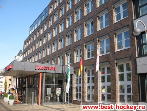 Marriott Koln Hotel front view